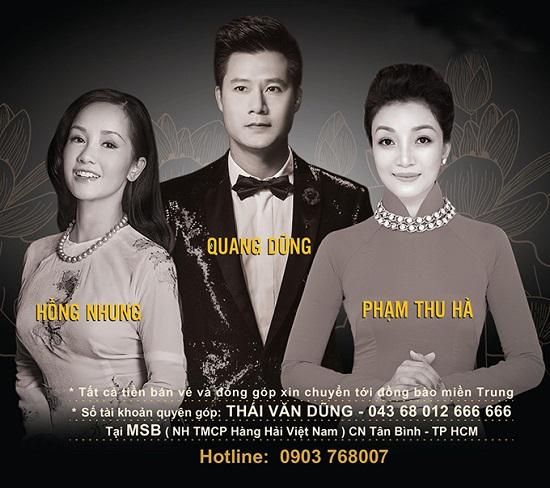 Quang Dũng tổ chức đêm nhạc hướng về miền Trung - Ảnh 1