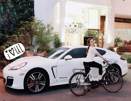 Cận cảnh xế hộp Porsche 8 tỷ được Bảo Thy mạnh tay sắm trước khi lấy chồng đại gia - Ảnh 4
