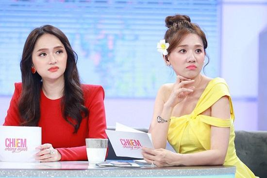 """Hương Giang bị khán giả nhận xét ăn mặc cầu kì trên sóng truyền hình, chiếm """"spotlight"""" của Hari Won và đàn chị - Ảnh 3"""