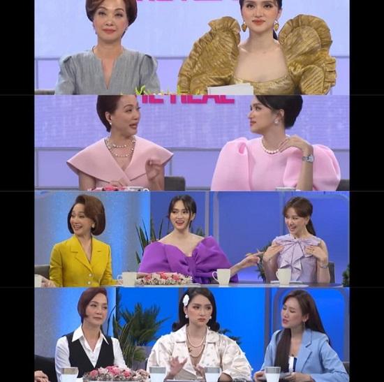 """Hương Giang bị khán giả nhận xét ăn mặc cầu kì trên sóng truyền hình, chiếm """"spotlight"""" của Hari Won và đàn chị - Ảnh 1"""