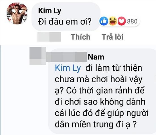 Hà Hồ làm thơ đáp trả khi Kim Lý bị antifan mỉa mai không về miền trung cứu trợ - Ảnh 3