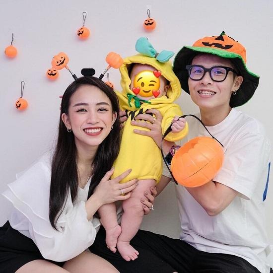 Con gái Minh Nhựa diện bikini khoe vóc dáng cực thon gọn chỉ sau 7 tháng sinh con - Ảnh 4