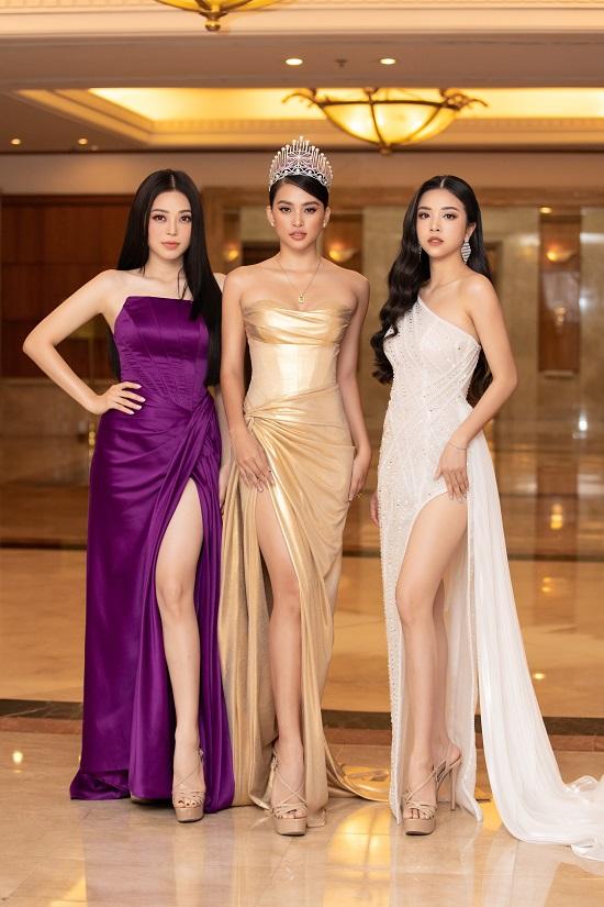 """Dàn hậu đình đám """"đổ bộ"""" họp báo Hoa hậu Việt Nam 2020 - Ảnh 1"""