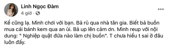 """Linh Ngọc Đàm lên tiếng về """"drama trà xanh"""" Sơn Tùng - Thiều Bảo Trâm, để lộ chi tiết bạn thân rời đã rời khỏi nhà Sơn Tùng - Ảnh 3"""