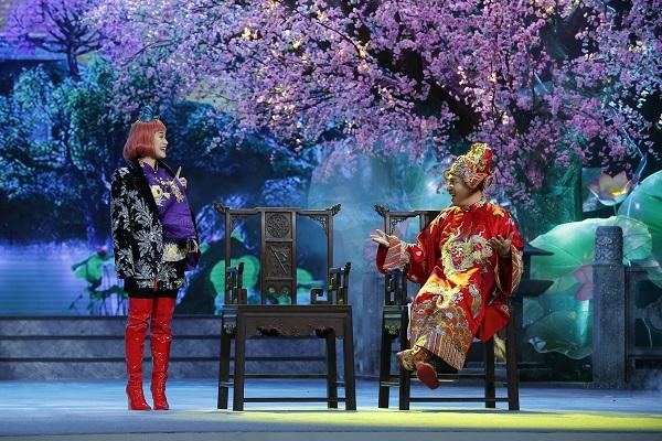 """Táo Quân 2021: Bất ngờ nhắc  drama """"trà xanh"""" của Sơn Tùng, hát chế Bigcityboi của Binz - Ảnh 2"""