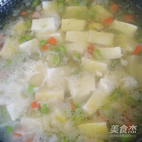 Canh tôm nấu đậu phụ đơn giản mà đưa cơm không tưởng - Ảnh 5