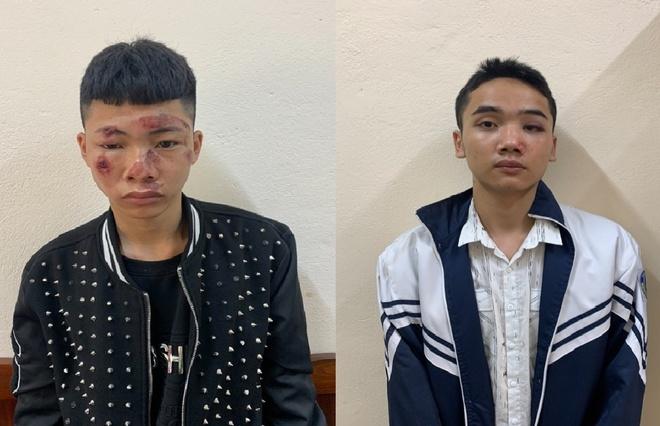 """Khởi tố 2 thanh niên """"thông chốt"""" tông gãy tay chân CSGT ở Vĩnh Phúc - Ảnh 1"""