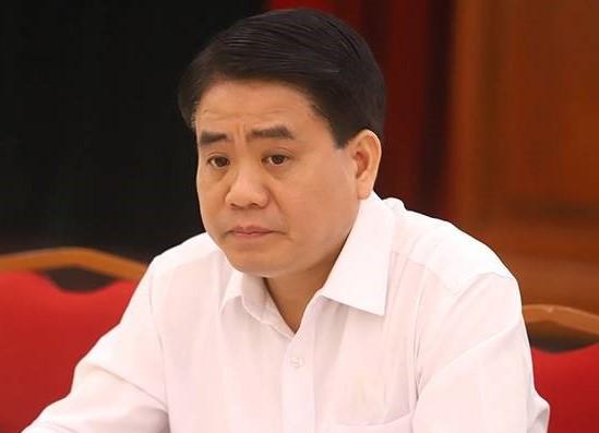 Nóng: Khởi tố Nguyễn Đức Chung về tội Lợi dụng chức vụ, quyền hạn trong khi thi hành công vụ - Ảnh 1