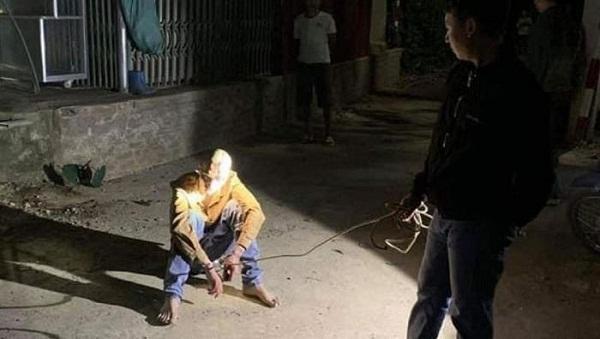Điện Biên: Con phê ma túy chém bố trọng thương rồi bỏ trốn - Ảnh 1