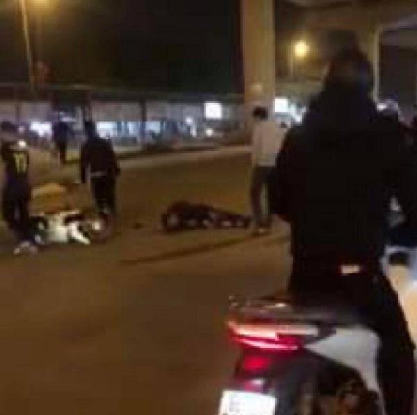 """Hà Nội: Điều tra vụ nam thanh niên """"thông chốt"""" 141 đâm trọng thương cảnh sát - Ảnh 1"""