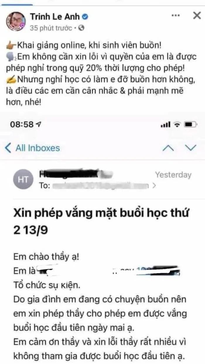 vu giang vien mia mai sinh vien vi xin nghi hoc dh khoa hoc xa hoi nhan van noi gi dspl 2