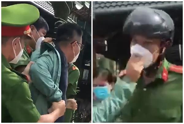 vu clip can bo xo xat voi dan tai diem tiem vaccine o binh duong cong an thong tin chinh thuc dspl 88