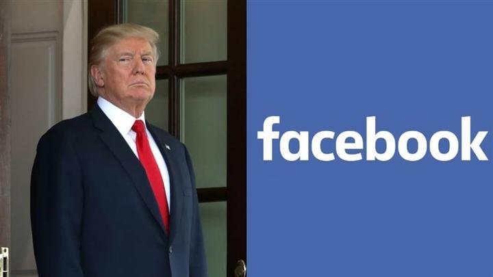 ong trump bi cam dung facebook den nam 2023
