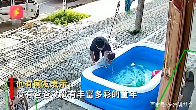 gai cung nghich ngom cam thang dau xuong ho phao day nuoc bo nhanh nhay cuu con thoat nan trong gang tac2
