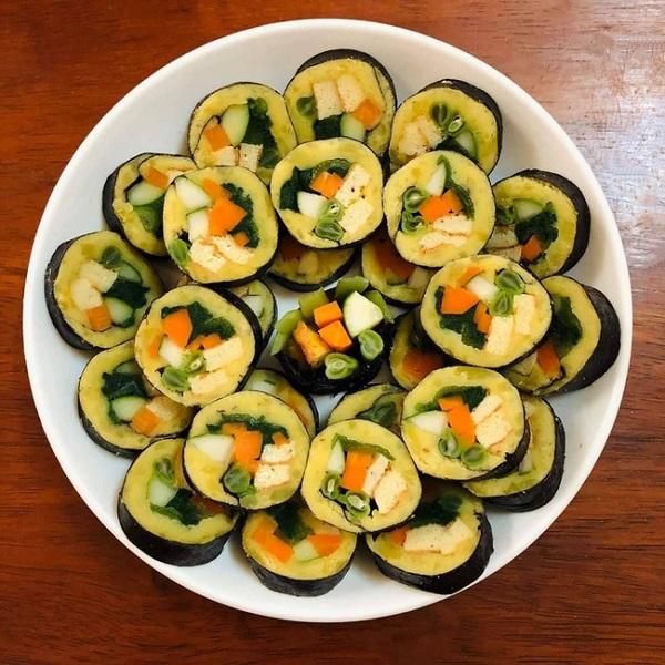kimbap khoai lang 1