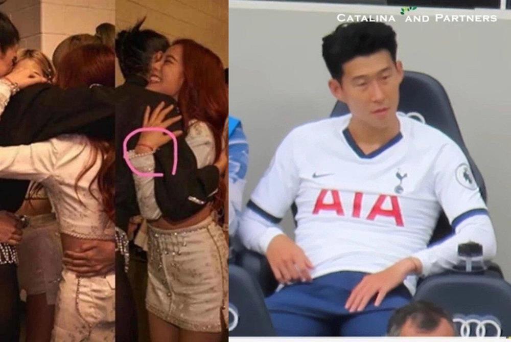 jisoo son heung min