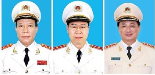 ba thuong tuong thoi giu chuc thu truong bo cong an