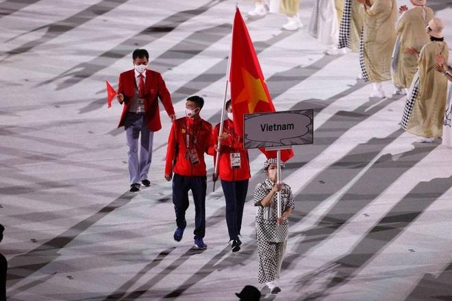 khoanh khac doan the thao viet nam dieu hanh tai le khai mac olympic tokyo 2020 6