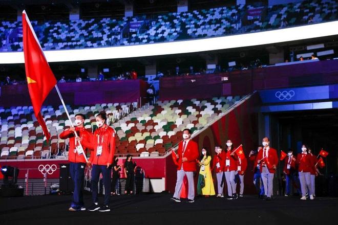 khoanh khac doan the thao viet nam dieu hanh tai le khai mac olympic tokyo 2020 7