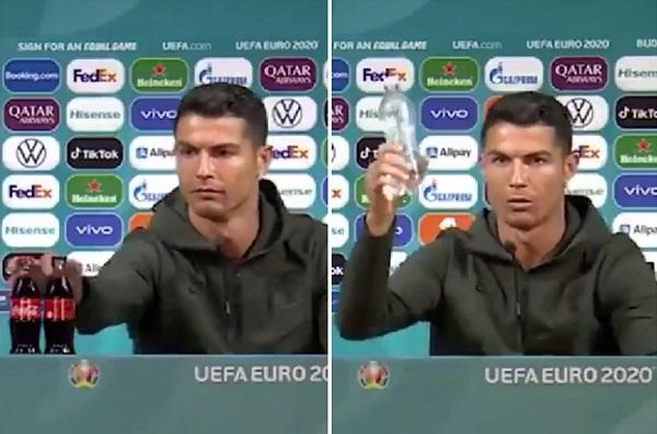 uefa canh bao trung phat cac cau thu tham du euro 2020 neu hoc theo ronaldo 01