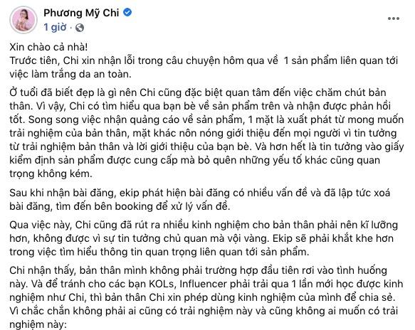 phuong my chi xin loi