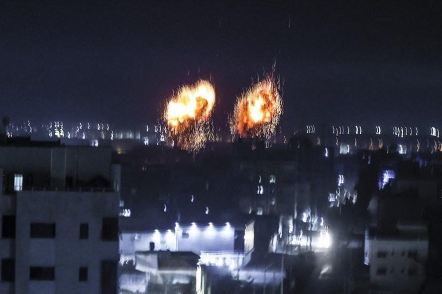 israel lai khong kich gaza dspl