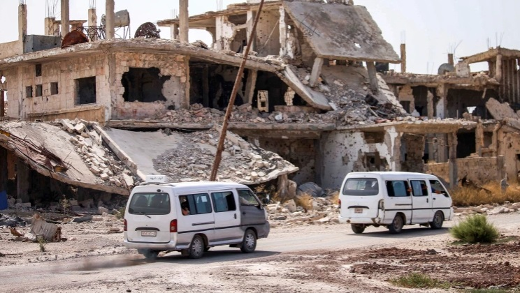 syria mo chien dich quan su qui mo lon truy quet thanh tri khung bo daraa dspl