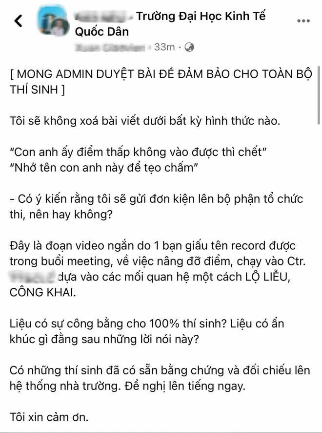 giang vien kinh te bi nghi nang diem cho sinh vien chay vao lop chat luong cao1