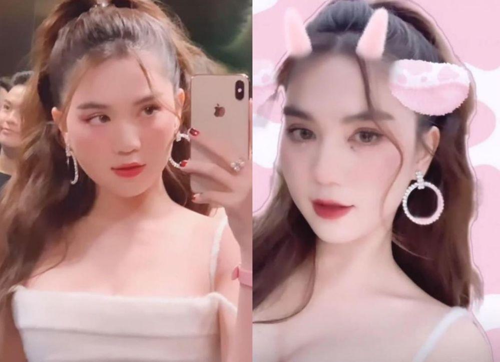 ngoc trinh lo mat banh bao cuoi ho loi tren song livestream khien dan mang nga ngua3