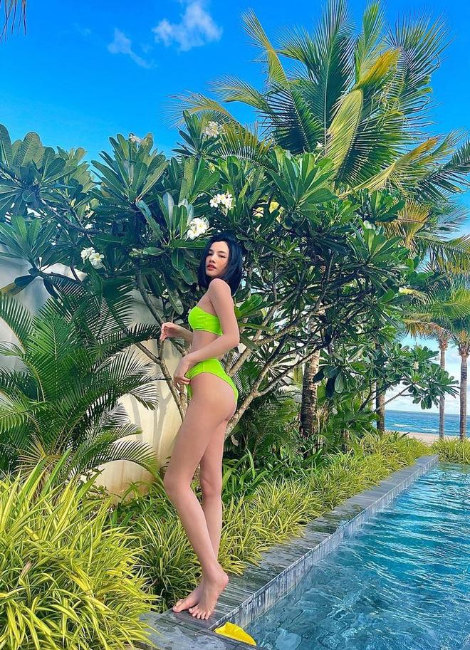 hotgirl cam dan khoe anh bikini bong mat lo bang chung hen ho voi chong cu le quyen4