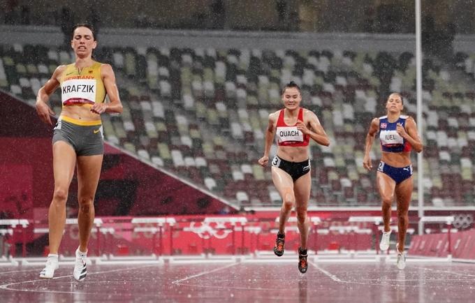 olympic tokyo 2020 quach thi lan dung chan o noi dung 400 m rao nu1