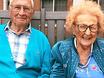Chuyện tình như cổ tích của cụ ông 100 tuổi kết hôn với cụ bà 103 tuổi trong viện dưỡng lão