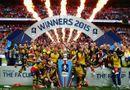 Bóng đá - Arsenal cùng Wenger đánh bại M.U, Ferguson thành Vua ở Cúp FA