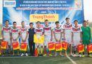 Bóng đá - Đội bóng báo ĐS&PL giành giải Nhì cúp Trung Thành
