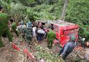 Tin trong nước - Tạm giữ lái xe khách giường nằm rơi xuống vực ở Quảng Nam