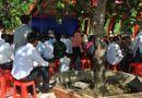 Hiện trường - Nghệ An: Tổ chức lễ Kỳ Khoa cầu cho học sinh chuẩn bị thi cử