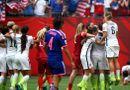 """Bóng đá - Nữ Mỹ 5-2 nữ Nhật: """"Đòn thù"""" hủy diệt của các cô gái Mỹ"""