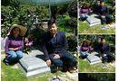 Tin tức giải trí - Quang Lê giải thích về bức ảnh ngồi lên mộ nhạc sĩ lão làng
