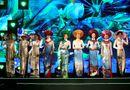 Tin tức giải trí - Bộ sưu tập áo dài 3 miền lần đầu xuất hiện trên truyền hình