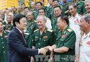 Tin trong nước - Chủ tịch nước gặp mặt cựu chiến binh 2 sư đoàn anh hùng