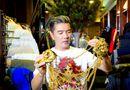 Chuyện làng sao - Choáng với loạt trang phục, phụ kiện bằng vàng ròng của Mr Đàm