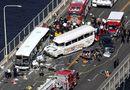 Tin thế giới -  Tai nạn xe bus kinh hoàng ở Mỹ: 4 sinh viên Việt Nam bị thương