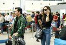 Tin tức giải trí - Vũ Ngọc Anh sánh đôi Trần Bảo Sơn đi dự liên hoan phim Busan