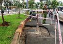 Tin trong nước - Hố ga trên đường bất ngờ phát nổ, hàng chục người tháo chạy