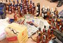 An ninh - Hình sự - Chặn 2 xe khách chở nhiều rượu Chivas, John giả trên QL1A