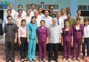 Tin trong nước - Tổng Bí thư thị sát tình hình hạn, xâm nhập mặn tại Tiền Giang