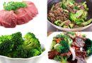 Ăn - Chơi - Thịt bò xào súp lơ, hành tây ngon, tiết kiệm ngày cuối tuần