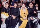 Tin tức giải trí - Hoa hậu Thu Hoài được dàn trai đẹp Thái Lan hộ tống xem show Công Trí