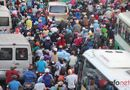 Tin trong nước - Người dân chật vật rời Thủ đô về quê