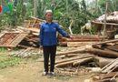 Tin trong nước - Yên Bái: Mưa lốc đổ bộ khiến 9 người bị thương, 24 nhà sập hoàn toàn